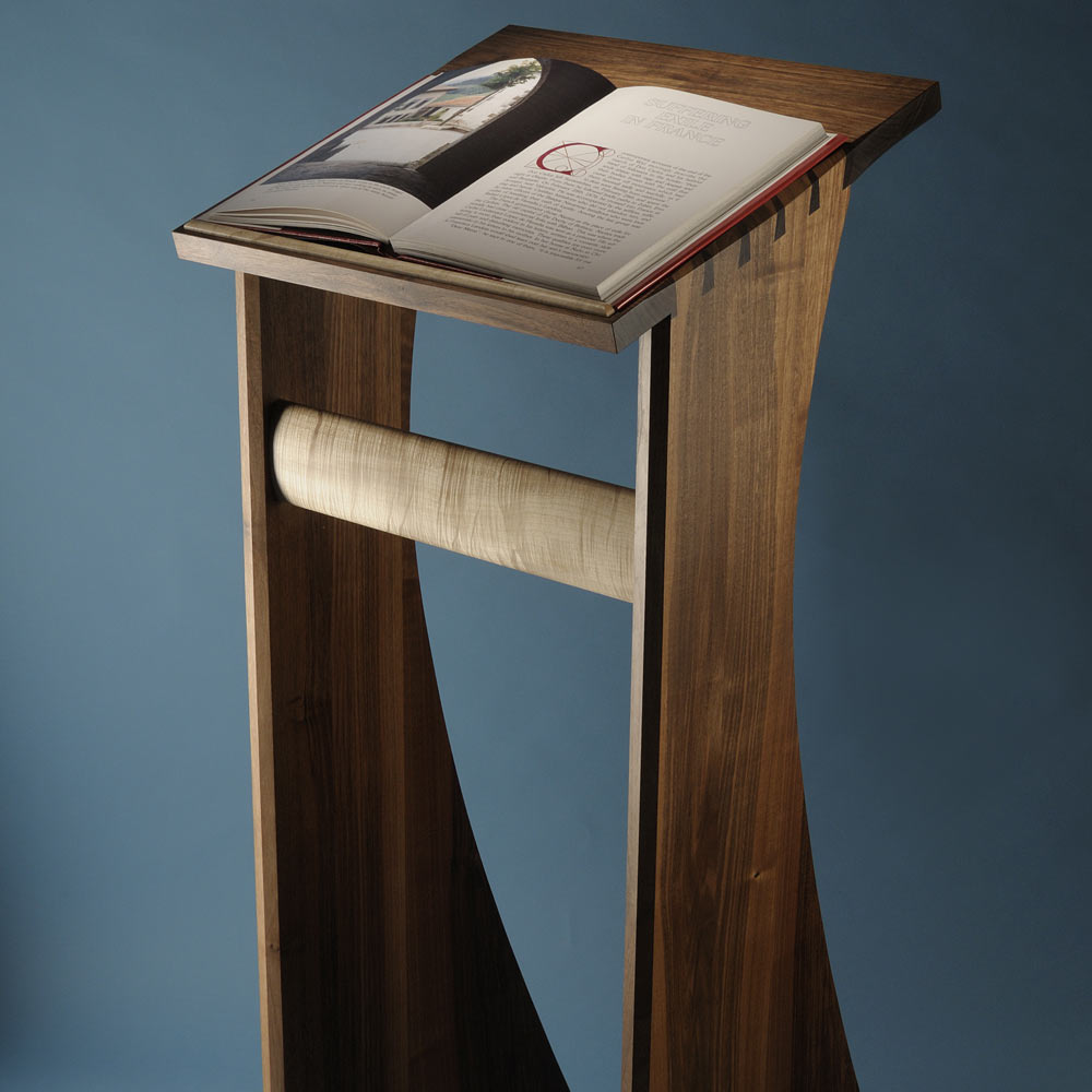 Lectern front view