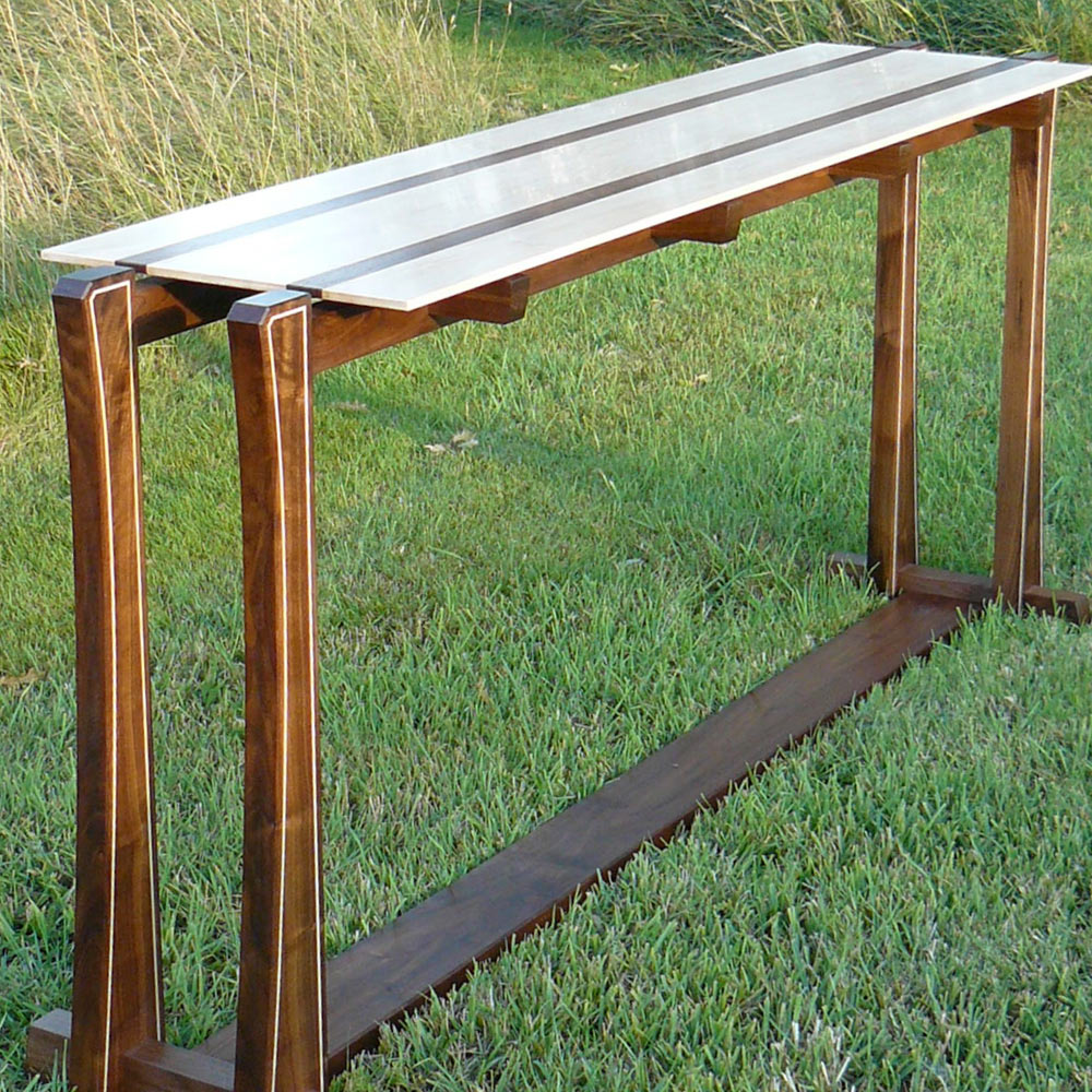 Singapore console table